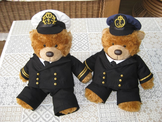 Captain & Mate Bears