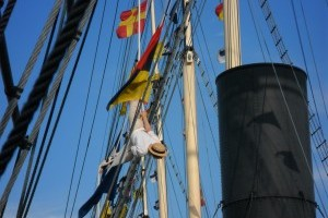 Chairmans Daughter in the Rigging