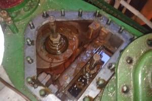 Main engine turns - 1