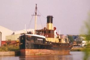 Freshspring moored